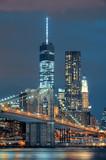 Fototapeta Most - Manhattan at night