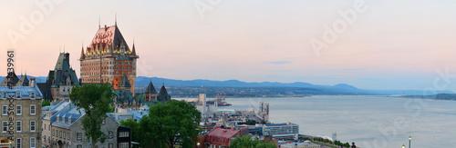 Naklejka premium Miasto Quebec