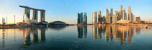 Plagát  Singapore skyline