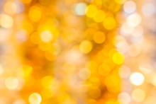 Festive Abstract Yellow And Orange Background