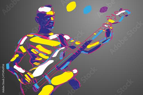 gitara-basowa-wektor