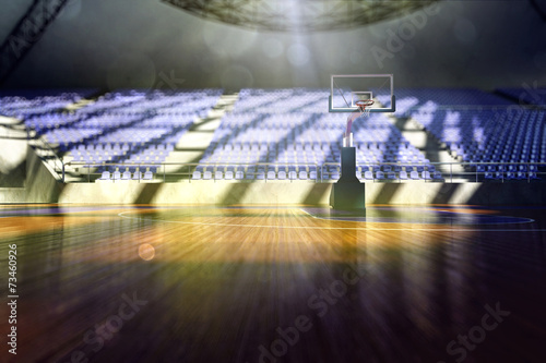 Foto op Plexiglas Stadion The basketball arena render