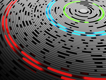 Data Disc Background