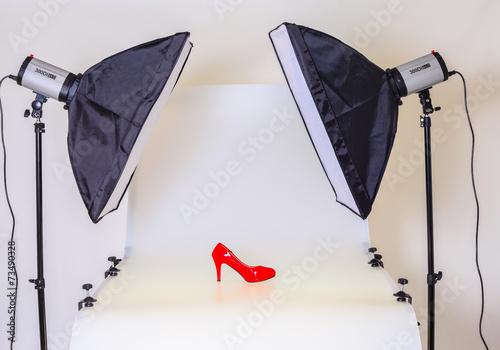 Fotografía  Vector Photo para fotografía de producto en un estudio