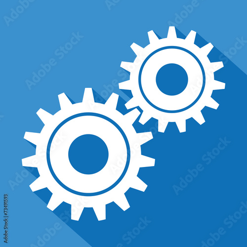 Fotografia, Obraz  Logo engrenages.