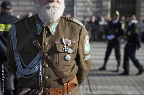 Fotografering Poland soldier dress