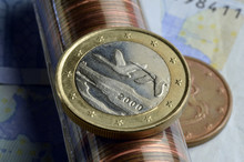 Suomen Tasavalta Republiken Finland Euro Currency Money