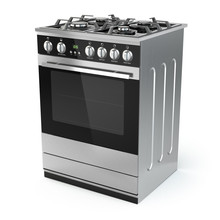 Stainless Steel Gas Cooker Wit...