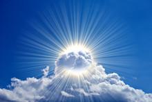 Strahlende Wolkenpracht