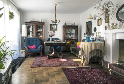 Fényképezés  Stylish sitting room
