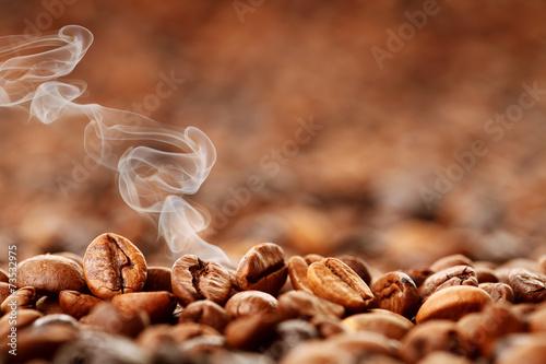 Fotografie, Obraz  Frisch gerösteter Kaffee
