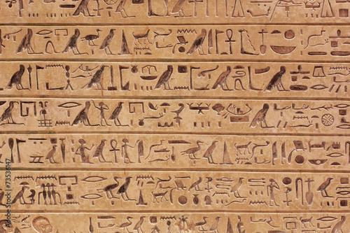 In de dag Egypte Egyptian hieroglyphs stone background