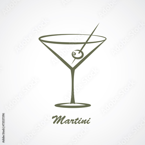 Fotografía  martini