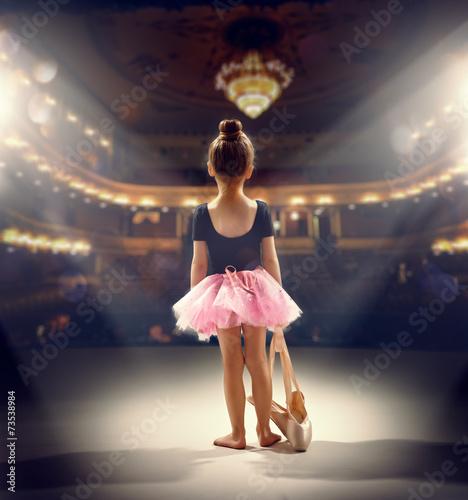 Fotografie, Tablou ballerina