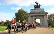 Londres Caballería Guardia 2