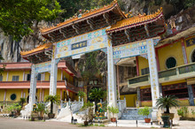 Archecture Of Main Enterance Of Sam Poh Tong, Ipoh