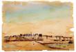 cartolina vintage di Saint Malo