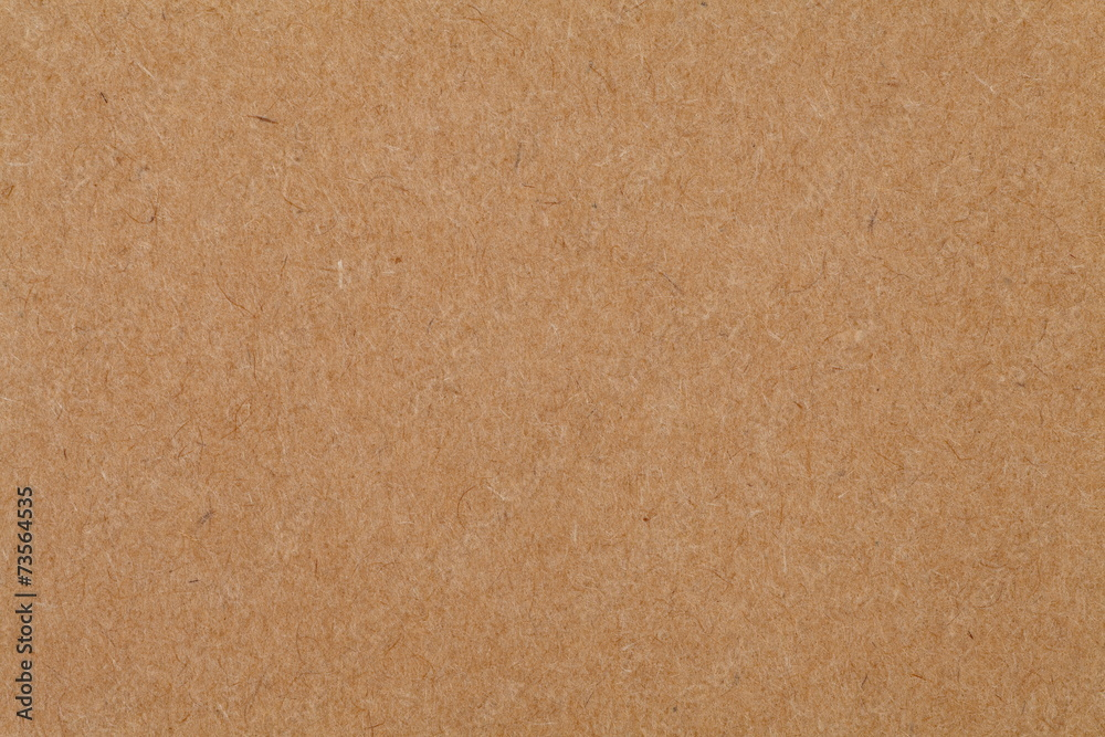 Fototapeta Close - up cardboard sheet of brown paper