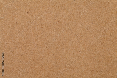 Obraz Close - up cardboard sheet of brown paper - fototapety do salonu