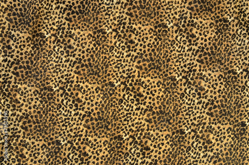 Foto op Aluminium Luipaard Brown and black leopard pattern.Spotted animal print background.