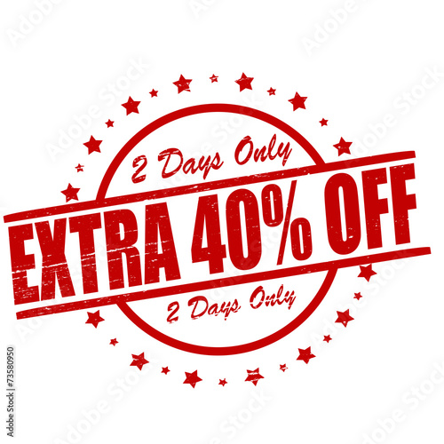 Extra fourty percent off Wallpaper Mural