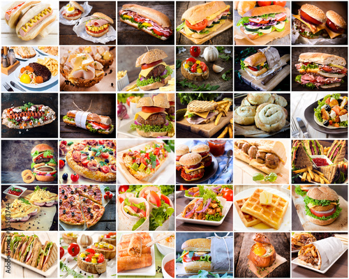 Large group of junk food in one photo © ltummy