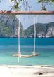 Relaxing in Pardise Tropical Scene