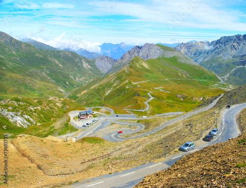 Valokuva  Route des cols dans les Alpes