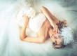 canvas print picture - wedding, the bride
