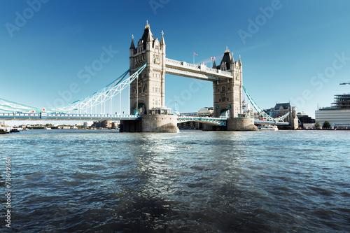 Tower Bridge in London, UK Canvas Print