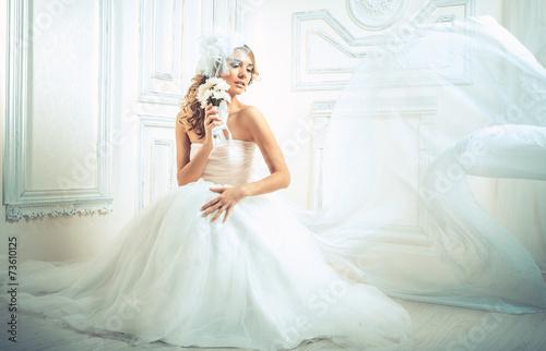 Fotografie, Obraz  wedding, the bride