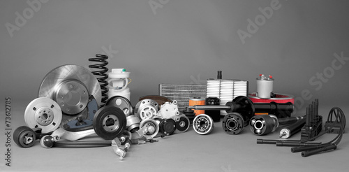 Fotografía  Auto parts