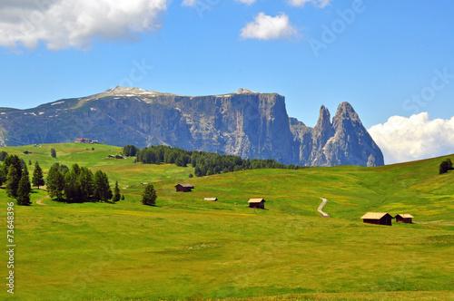 Fotografie, Obraz  Mountains in Alps