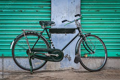 Foto op Plexiglas Fiets Old Indian bicycle