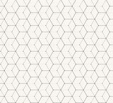 Hexagons gray vector simple seamless pattern - 73673939