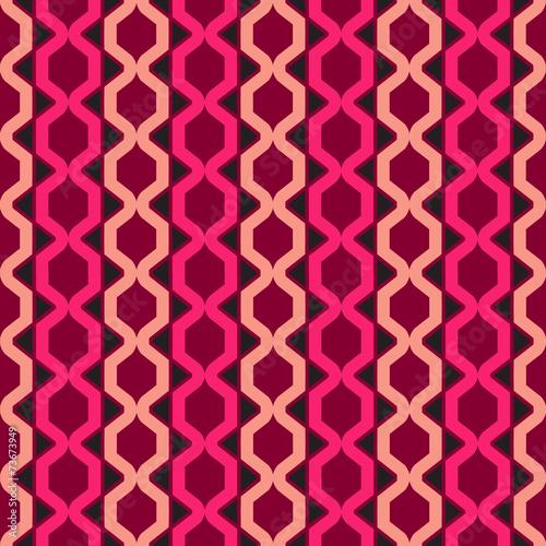 Keuken foto achterwand ZigZag Abstract geometric seamless pattern background