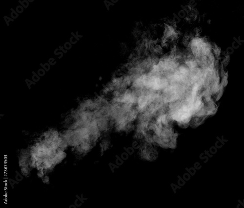 Papiers peints Fumee smoke steam fog air background shape black
