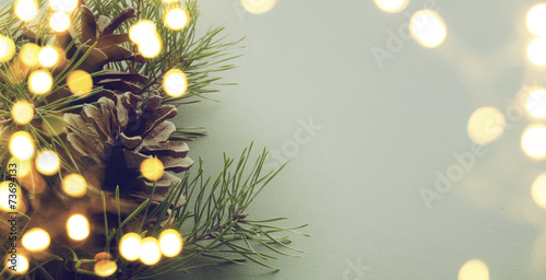Fotografia christmas tree light