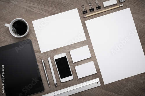Fotografie, Obraz  Letterhead and logo design blank template
