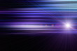 canvas print picture - Futuristic stripe design with light and space for text