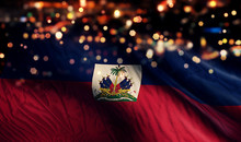 Haiti National Flag Light Nigh...