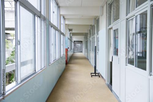 Fotografie, Obraz 学校 の 廊下