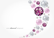 Abstract Background With Diamo...