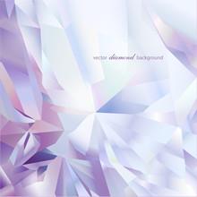 Abstract Modern Diamond Geometric Vector Background