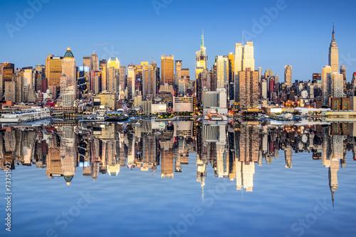 Juliste  New York City View over Hudson River