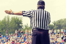 American Football Referee And ...