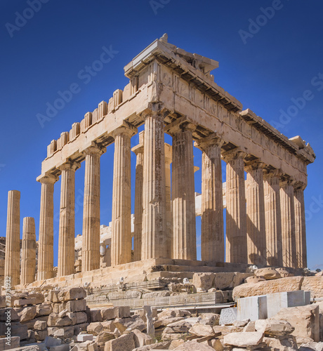 Tuinposter Athene Parthenon temple on the Acropolis of Athens,Greece