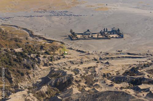 Fototapeta Hindu temple from top view obraz na płótnie