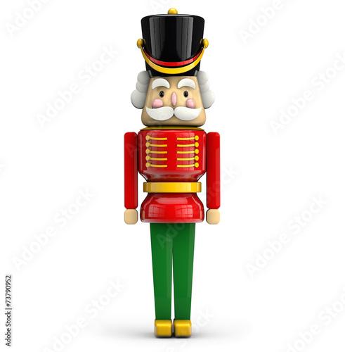 Fotografía  Nutcracker Christmas soldier symbol