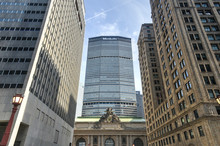Grand Central Terminal And MetLife Building, New York
